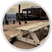 Southport Picnic Table Round Beach Towel