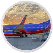 Southwest Airlines - The Winning Spirit Round Beach Towel