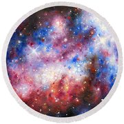 Space 1 Round Beach Towel