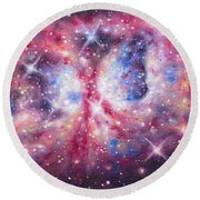 Space 2 Round Beach Towel