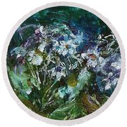 Sparkle In The Shade Round Beach Towel