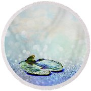 Sparkling Round Beach Towel by Aimelle