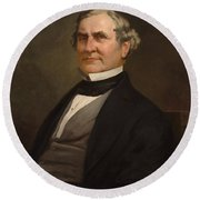 Speakers Of The United States House Of Representatives, William Pennington, New Jersey  Round Beach Towel