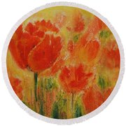 Spectacle Round Beach Towel