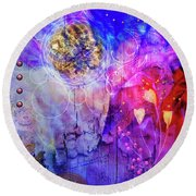 Spellbound Round Beach Towel