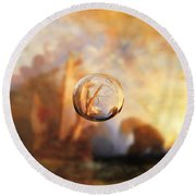 Sphere 11 Turner Round Beach Towel by David Bridburg