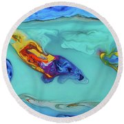 Sphyrna Media Round Beach Towel