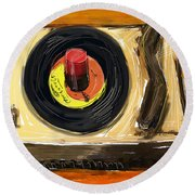 Spin It Round Beach Towel