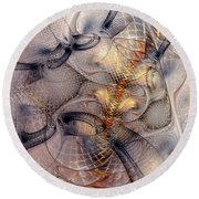 Spinally Activated Round Beach Towel