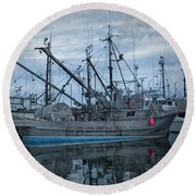 Round Beach Towel featuring the photograph Spirit At Rest by Randy Hall
