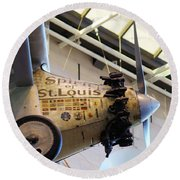 Spirit Of St Louis Round Beach Towel by John S