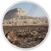 Spirit Of The Desert Round Beach Towel by Yoel Koskas