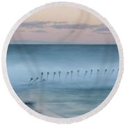 Spirit Of The Ocean Round Beach Towel