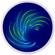 Spiritual Art - Flexible Synergy By Rgiada Round Beach Towel