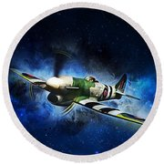 Hawker Typhoon Round Beach Towel