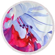 Splash Of Summer  Round Beach Towel