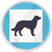 Spot Round Beach Towel by Now