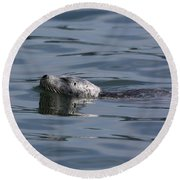 Spotted Beauty Round Beach Towel