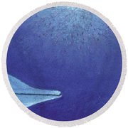 Spotted Hello Round Beach Towel