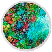 Spring 02 Round Beach Towel