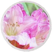 Spring Bling Round Beach Towel