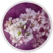Spring Blooms Round Beach Towel by Ann Powell