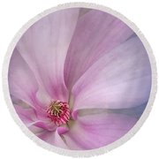 Spring Comes Softly Round Beach Towel
