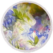 Spring Round Beach Towel by Fred Wilson