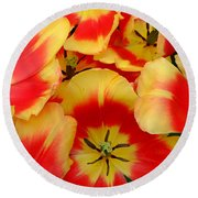 Spring Is Here Round Beach Towel