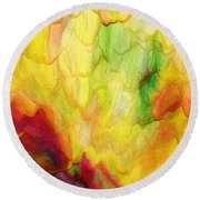 Spring Two 030216 Round Beach Towel
