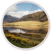 Springtime In New Zealand Round Beach Towel
