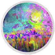 Springtime In Tennessee Round Beach Towel