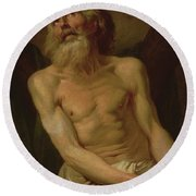 St Andrew The Apostle Round Beach Towel