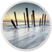 St Clair 2 Round Beach Towel