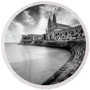 Round Beach Towel featuring the photograph St. Julien by Okan YILMAZ
