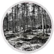 St Lawrence's Wood, Hartshill Hayes Round Beach Towel