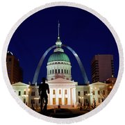St. Louis Round Beach Towel