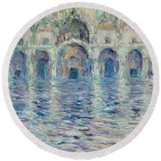 st-Marco square- Venice Round Beach Towel