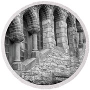 St. Mark's Episcopal Church Round Beach Towel