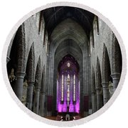 St. Mary's Cathedral, Killarney Ireland 1 Round Beach Towel
