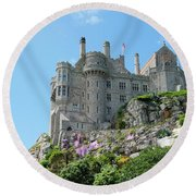 St Michael's Mount Castle Round Beach Towel