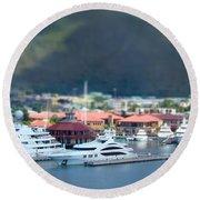 St. Thomas Us Virgin Islands Round Beach Towel