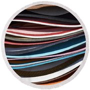 Stacked Sombreros Round Beach Towel