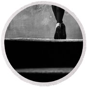 Round Beach Towel featuring the photograph Stage by Andrey  Godyaykin