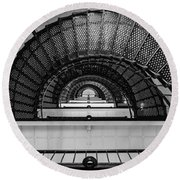 Stair Master Round Beach Towel