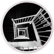Staircase II Round Beach Towel