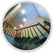 Staircase Round Beach Towel
