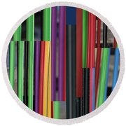 Stake Out - Round Beach Towel