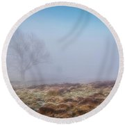 Round Beach Towel featuring the photograph Standing Fiercely by Jeremy Lavender Photography