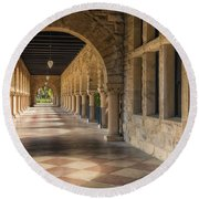 Stanford Hall Round Beach Towel